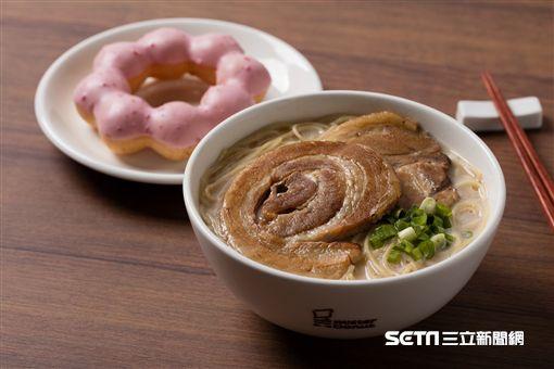 Mister Donut多拿滋推出日式現煮麵。(圖/Mister Donut提供)