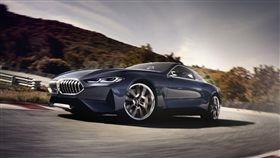 BMW 8-Series。(圖/翻攝BMW網站)