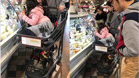 這樣推小孩購物?網友反諷:貴婦們腦筋真好