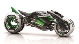Kawasaki J Concept。(圖/翻攝Kawasaki網站)