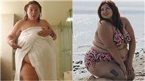 Julianna Mazzei,大尺碼,網紅,模特,肥胖,加拿大,體型,健康,自信 圖/翻攝自Julianna Mazzei IG https://goo.gl/MFQMR5
