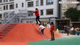 兒童遊戲場,特色,台北市工務局公園處,大安區,波力士大人,敦仁公園,敦化南路派出所