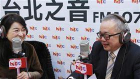 行政院副院長施俊吉接受「蔻蔻早餐」節目專訪。(圖/Hit Fm《蔻蔻早餐》製作單位提供)