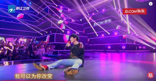 蕭敬騰(圖/翻攝自《浙江衛視》官方YouTube頻道)
