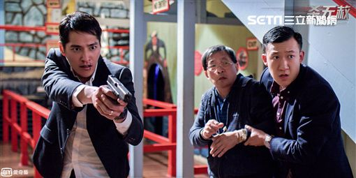 藍正龍,電視電影《殺無赦》,愛奇藝台灣站提供