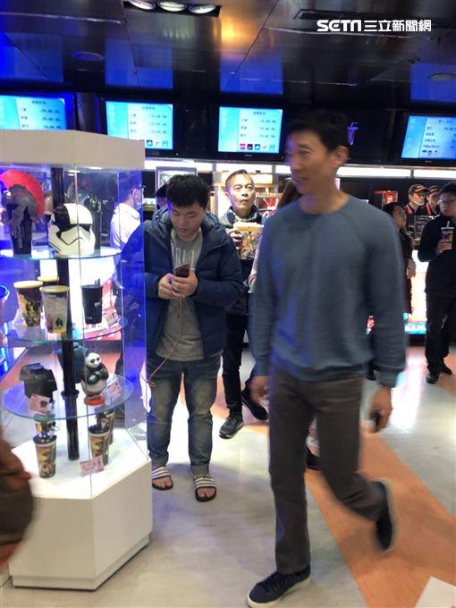 隋棠今晚與林義傑等人為好萊塢片《12猛漢》首映會站台/記者臺孝婷攝