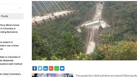 南美洲,哥倫比亞,斷裂,意外,身亡,波哥大