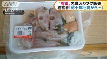 日本,河豚,切片,中毒.肝臟,回收 圖/翻攝自朝日電視台