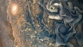 朱諾號(Juno)拍攝木星大氣層_NASA