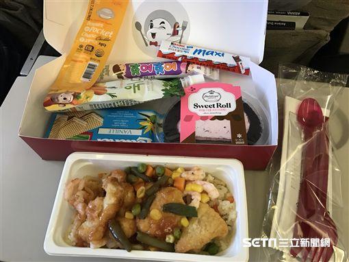 飛機餐,特殊餐,兒童餐。(圖/記者簡佑庭攝)