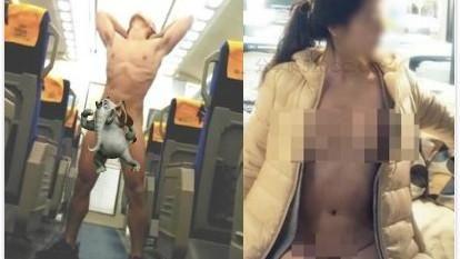 台鐵、IKEA裸拍族出沒
