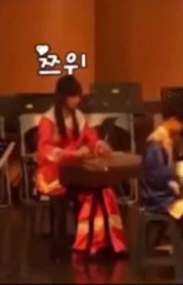 TWICE,周子瑜,古箏,國樂,樂器,女團,才藝(圖/翻攝自YouTube)