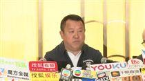 曾志偉召開記者會/翻攝自蘋果動新聞 HK Apple Daily