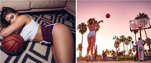 籃球,澳洲,美國,INSTAGRAM,正妹,運動,健身,性感 圖/翻攝自IG