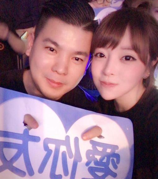 趙芸(趙心姸)與前夫蘇杰睿/趙心姸臉書
