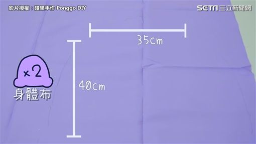 影片授權:碰果手作 Ponggo DIY