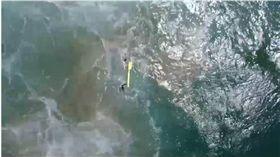 無人機,救援,衝浪,澳洲,浮板,新南威爾斯,Lennox Head 圖/翻攝自澳洲新聞網