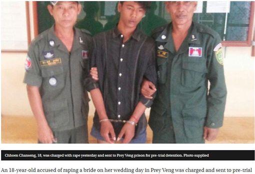 柬埔寨男假扮新郎潛入洞房性侵新娘/金邊郵報