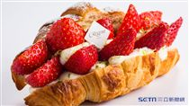 草莓蛋糕。(圖/台北晶華提供)