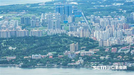 台北,淡水河,房地產,房價,地價,地皮 圖/記者林敬旻攝