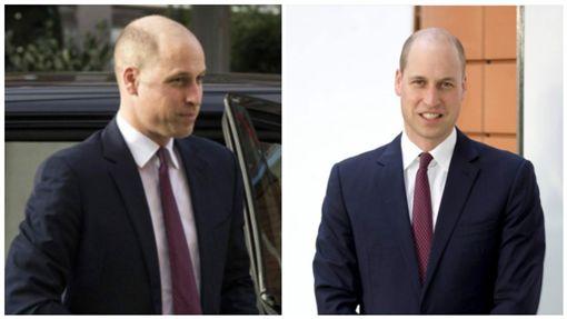 英國威廉王子換新髮型(圖/翻攝自推特)