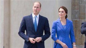 英國威廉王子、凱特王妃(圖/翻攝自推特)