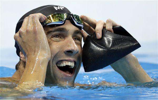 ▲菲爾普斯共拿下23面奧運金牌。(圖/美聯社/達志影像)