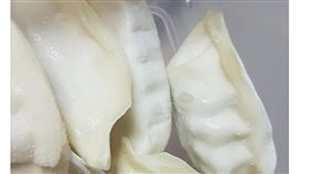 愛心水餃,冷凍水餃