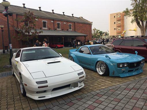 老車,車聚,經典車款,經典90(記者郭奕均攝影)