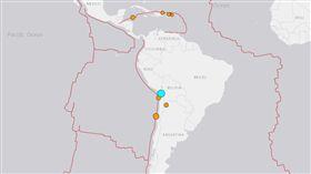 智利地震/美國地質調查所U.S. Geological Survey網站