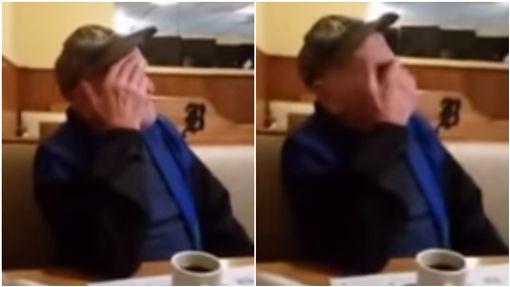美國,威斯康辛州,失明,盲人,祖孫,爺爺,孫子,驚喜/YouTube