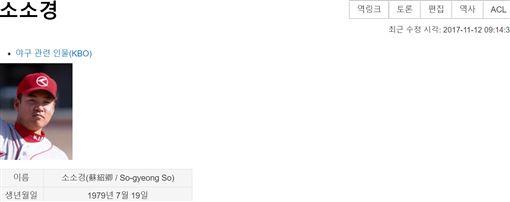 ▲韓國大邱華僑蘇紹卿是首位進入KBO的中華民國選手。(圖/截自網路)