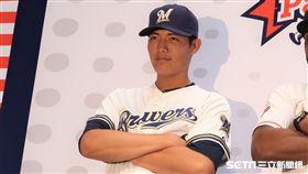 ▲王維中將挑戰韓國職棒。(資料照/記者王怡翔攝)