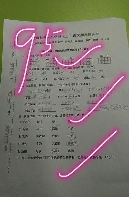 中國大陸,男童,癌末,期末考,考試,考卷,大腸癌(圖/翻攝自微博)https://www.weibo.com/1644114654/FFxe6AzaP?refer_flag=1001030106_&type=comment#_rnd1516610477308