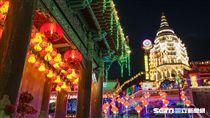 馬來西亞極樂寺春節燈會。(圖/馬來西亞觀光局提供)