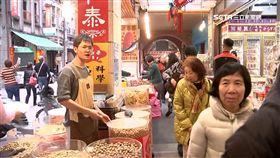 魷魚絲,小捲,鮑魚,年貨,零食,迪化街,過年,年節