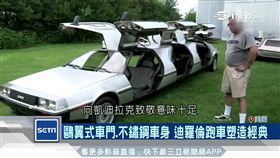 迪羅倫汽車,傳奇車,復刻,回到未來,鷗翼式車門,跑車,經典