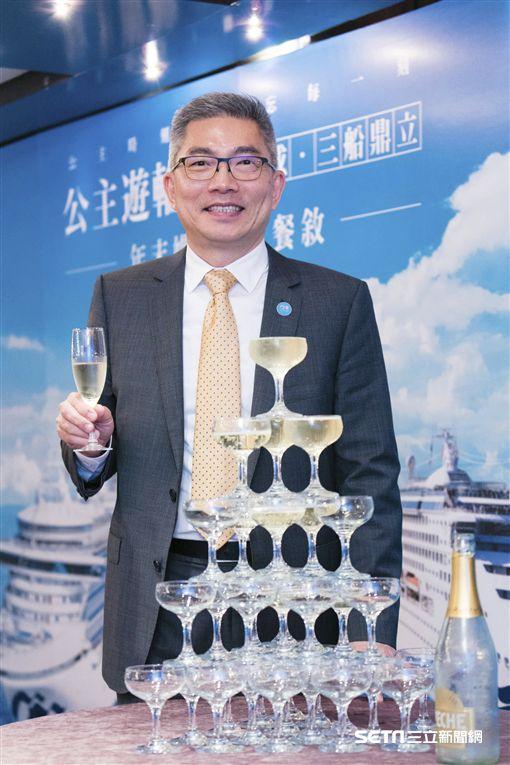 公主遊輪行銷總監陳欣德。(圖/公主遊輪提供)