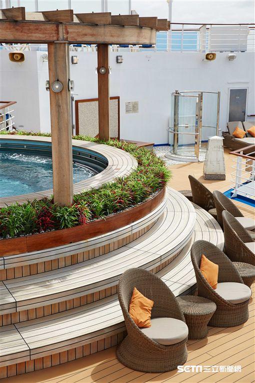 公主遊輪,鑽石公主號,日式浴場。(圖/公主遊輪提供)