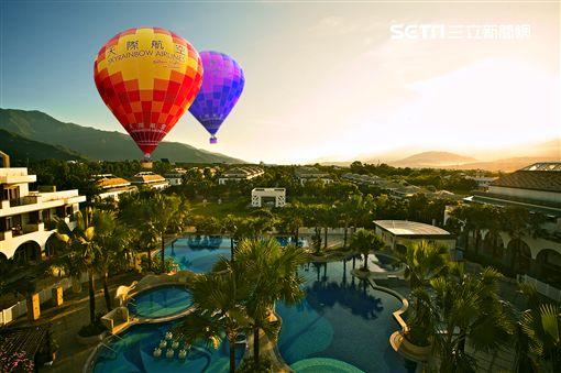台東池上日暉渡假飯店,日暉,熱氣球,台東熱氣球嘉年華,台灣國際熱氣球嘉年華