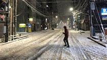 東京大雪釀2死!1死者為台灣人 疑車輛打滑撞大卡車 圖/翻攝自推特