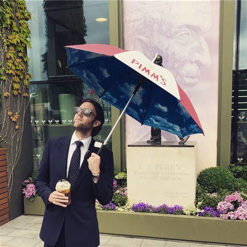 英國男星馬修路易斯。圖/翻攝自馬修路易斯推特
