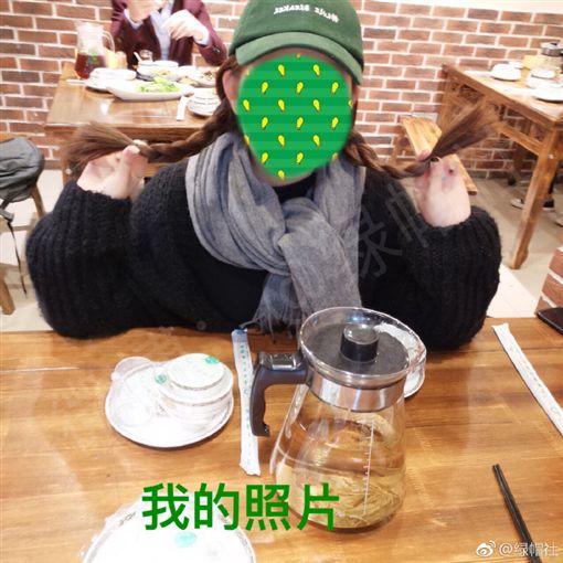 前男朋友在親姐家吃外賣宵夜 正妹傻眼:我被姐姐綠了嗎?圖/翻攝自微博
