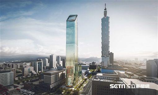 Taipei Sky Tower,信義區新地標,摩天大樓(圖/碩河開發提供)