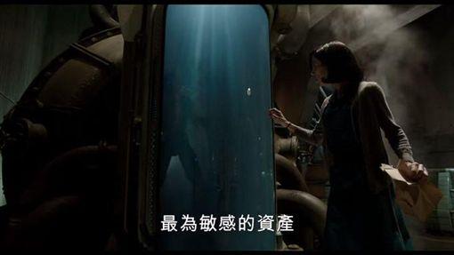 莎莉霍金斯以《水底情深》入圍女主角。(圖/翻攝YouTube)