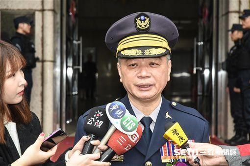 新任刑事局長蔡蒼柏。 圖/記者林敬旻攝