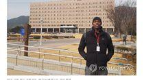 ▲韓國男籃歸化黑人選手Ricardo Ratliffe,韓文名為羅健兒。(圖/截自韓國媒體)