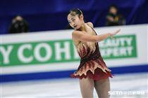四大洲花式滑冰錦標賽中華隊林仁語,Amy Lin 圖/記者林敬旻攝