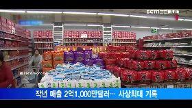 韓泡麵賣翻1700