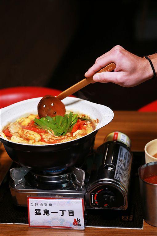 AKAKARA「地獄鍋」。(圖/AKAKARA赤から鍋供給)